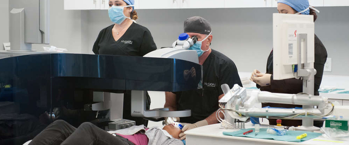 Nvision Surgeons Operating