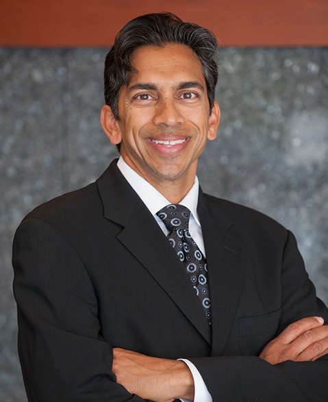 Max Parikh, M.D. head shot