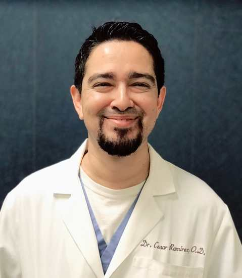 Cesar Ramirez, OD head shot