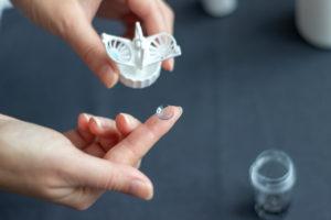 Orthokeratology contact lenses