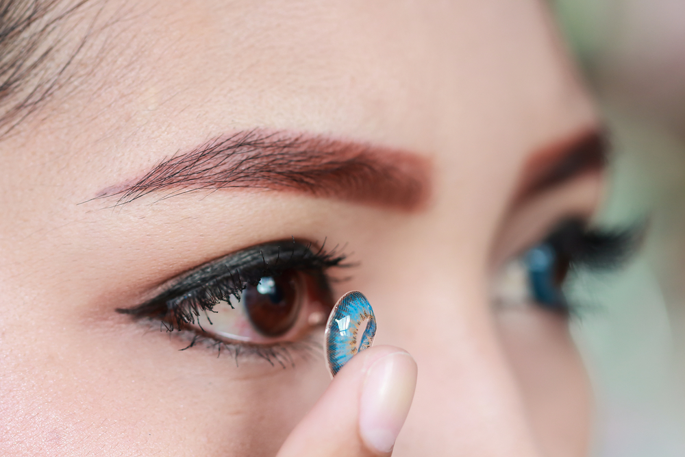 Image result for Use Coloured Contact Lenses